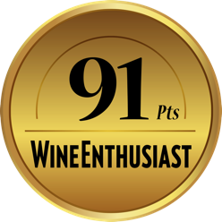 91 Points - Wine Enthusiast